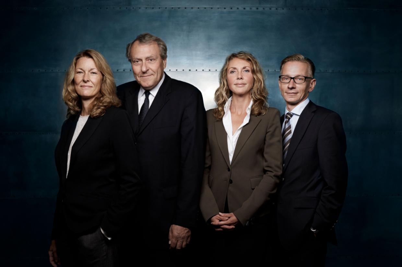 Millionærklubben - Bodil Johanne Ganzel, Lau Svenssen, Pernille Enggaard og Lau Svenssen. Foto: Klaus Vedfeldt