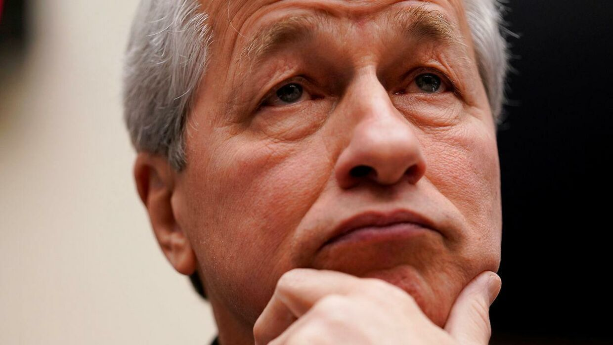 Her ses Jamie Dimon, topchef i JP Morgan Chase & Co